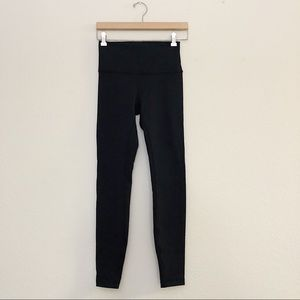 LULULEMON wunder under black leggings